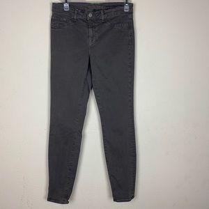 J Brand- Gray Skinny Leg Pants size 28